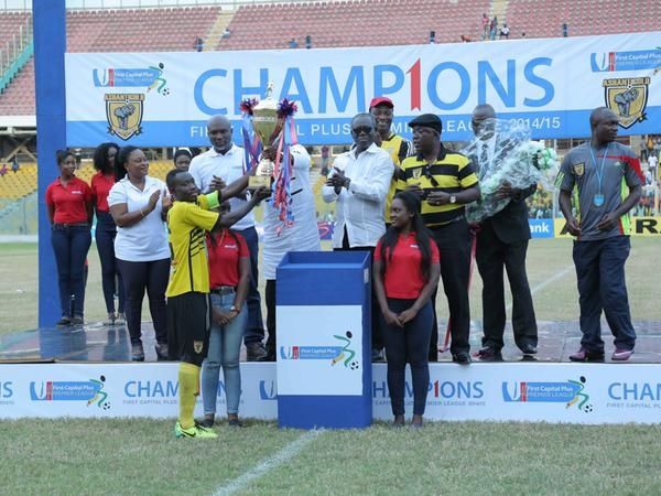 League Champions AshantiGold will face Medeama
