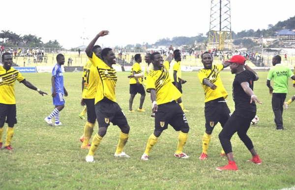 AshGold players happy after Medeama