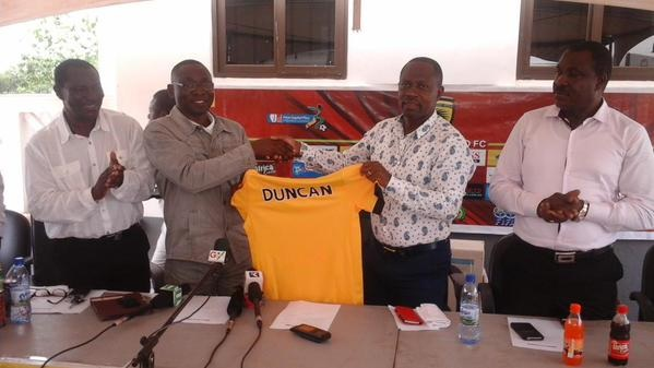 David Duncan unveiled as Kotoko coach