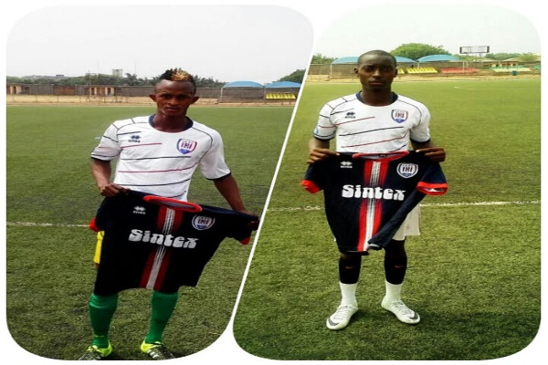 Inter Allies unveil Prince Barrie & Michael Touray - Footy-Ghana