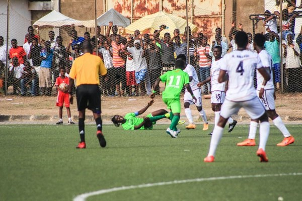 Inter Allies v Dreams - Footy-Ghana