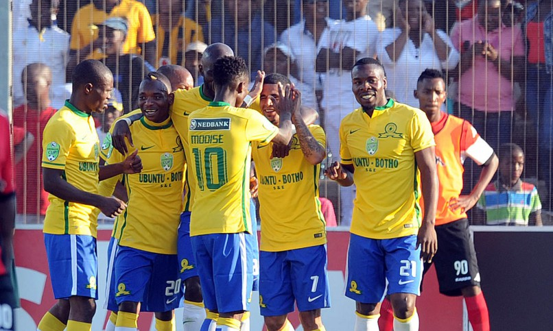 Sundowns celebrate
