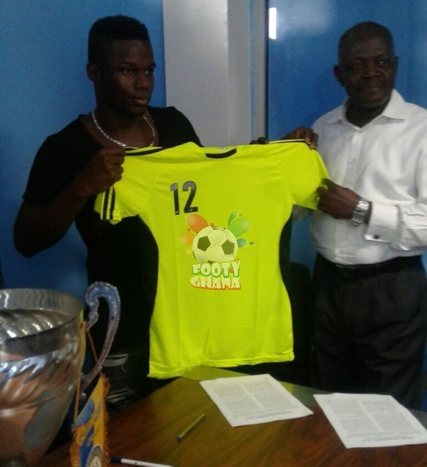 Amed Toure signs for Bechem - Footy-Ghana