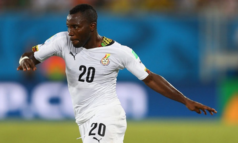 Kwadwo Asamoah set to miss Ghana-Mauritania friendly