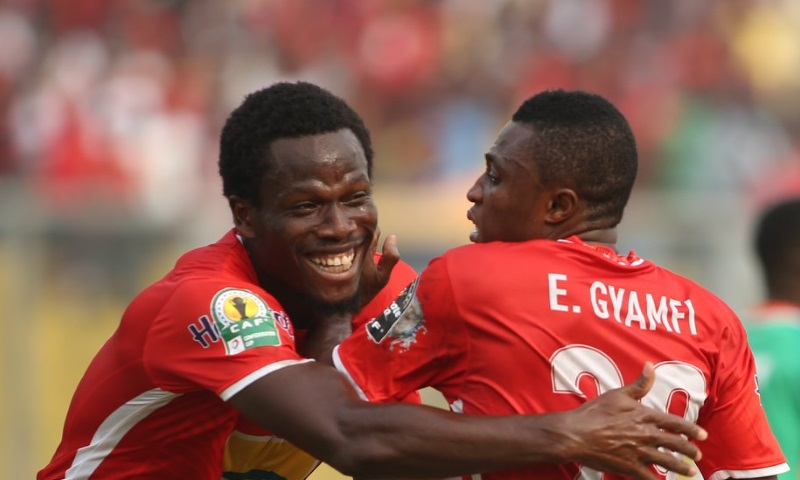 Caf CC: Kotoko back in the mix with first half blitz of Nkana