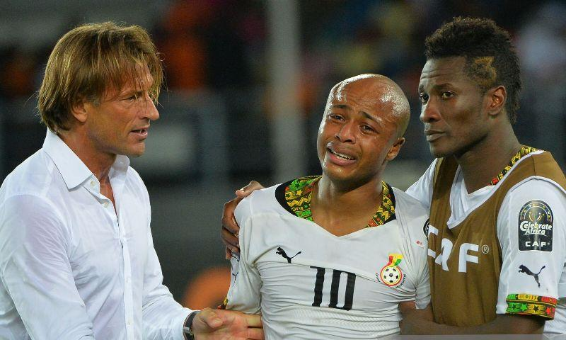 Gyan was supposed to have a better career but he was lazy - Herve ...