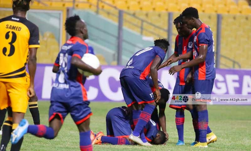 GPLwk10: Legon Cities recover twice to humiliate AshantiGold |  Footy-GHANA.com
